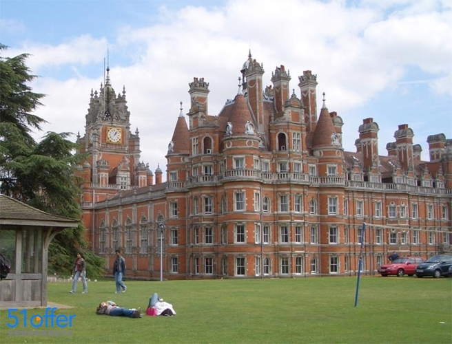皇家霍洛威大学_Royal Holloway, University of London照片-中英网UKER.net