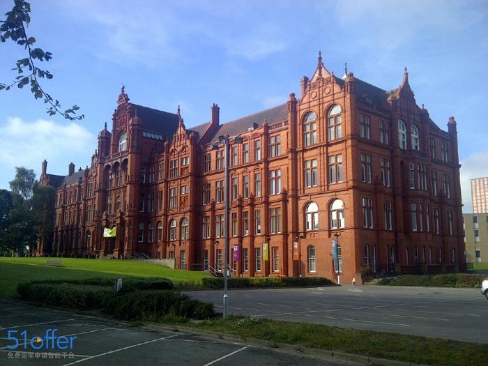 索尔福德大学校园环境_University of Salford校园环境照片-中英网UKER.net