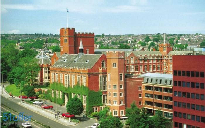 谢菲尔德大学校园环境_University of Sheffield校园环境照片-中英网UKER.net