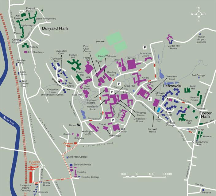 英国大学地图