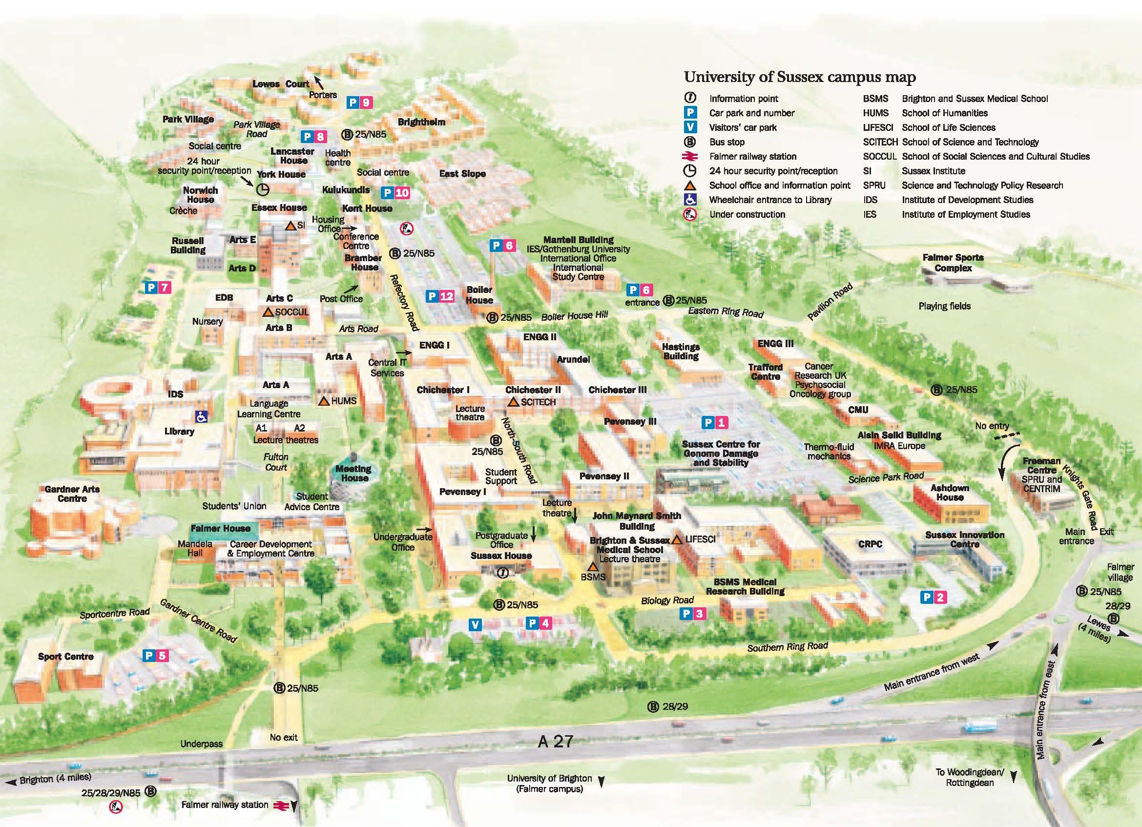 > 学校地图